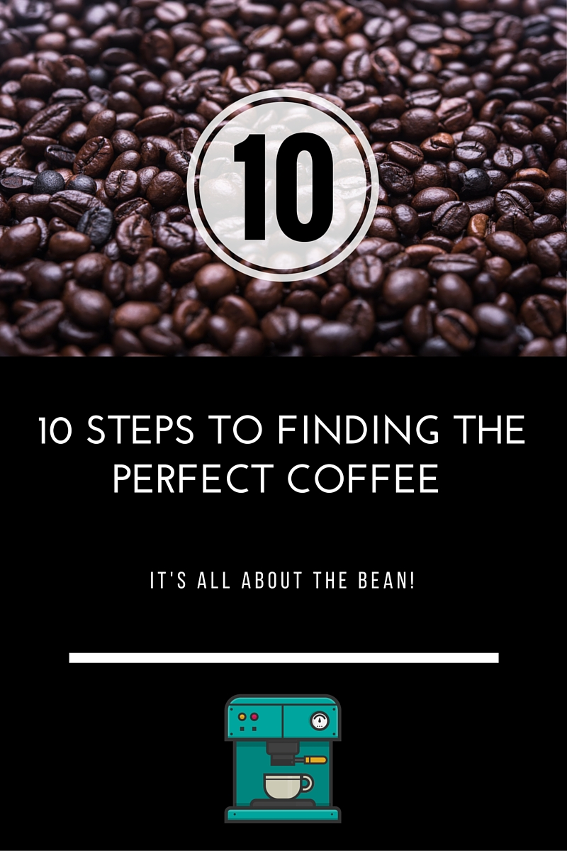 10 Steps to finding the Perfect Coffee - from bean to cup!