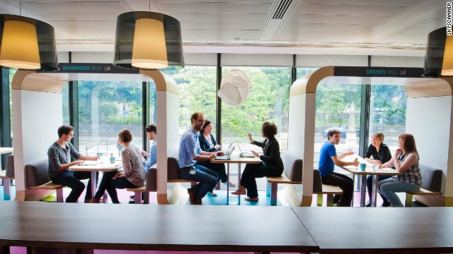 Skyscanner Office Edinburgh