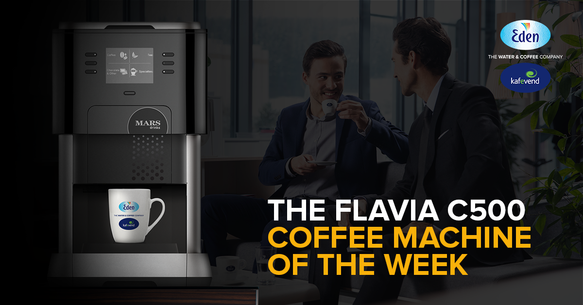 FLAVIA COFFEE MACHINE - Recommended by Eden Kafevend