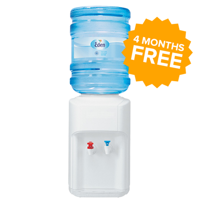 Desktop Water Cooler Offer 4 Months Free