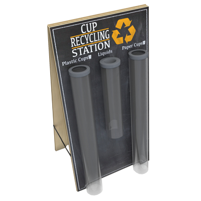 Cup Recycling Stations