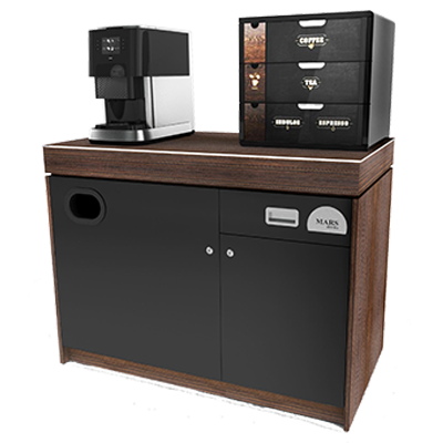 FLAVIA C500 Drinks Brewer With Cabinet for offices