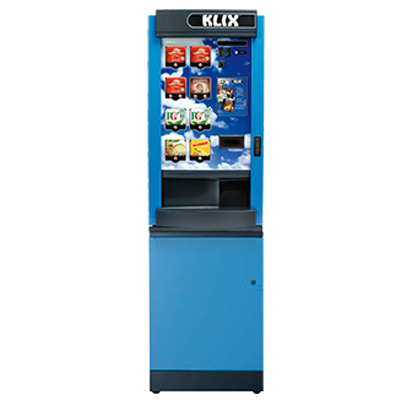 KLIX 450 Vending Machine with Base Cabinet