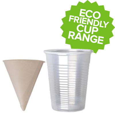 PLA Water Cups and Paper Cone Cups