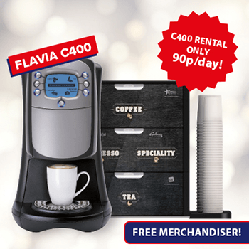Flavia C400 Office Coffee Machine Special Offer