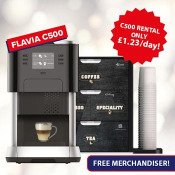 Flavia C500 Office Coffee Machine Special Offer