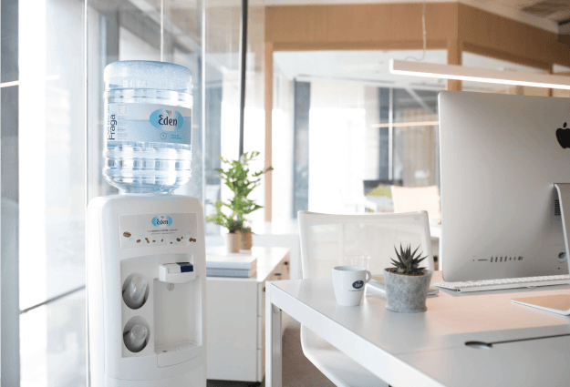Bottled water coolers for companies