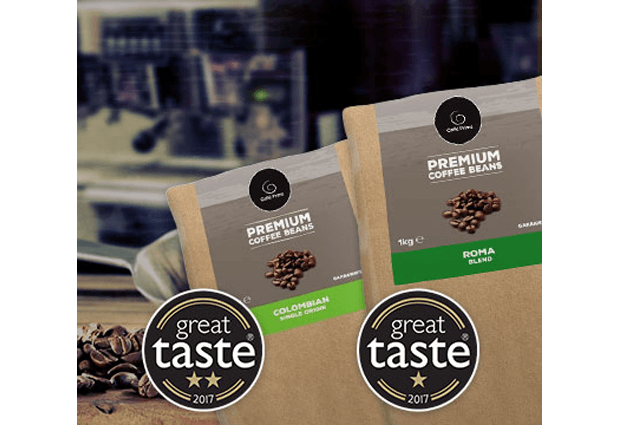 Great Taste Award Winning Coffee