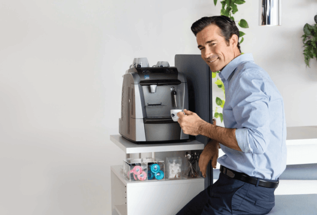 Coffee distribution service for offices