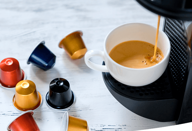 Coffee pod machines for offices