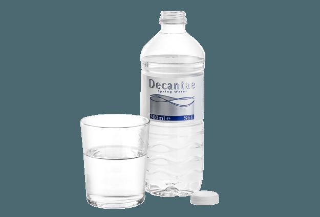 PET 500ml Bottled Water - Decantae