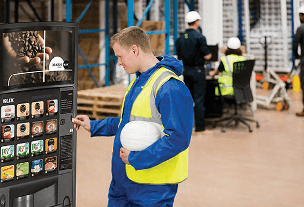 Vending machine Service KLIX