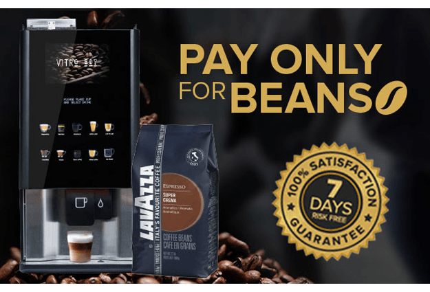 Pay Only For Beans - Bean to Cup Business Offer