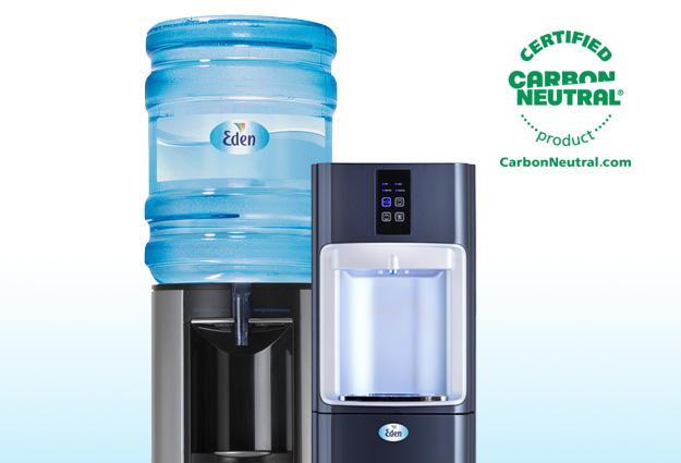 Two types of desktop water coolers