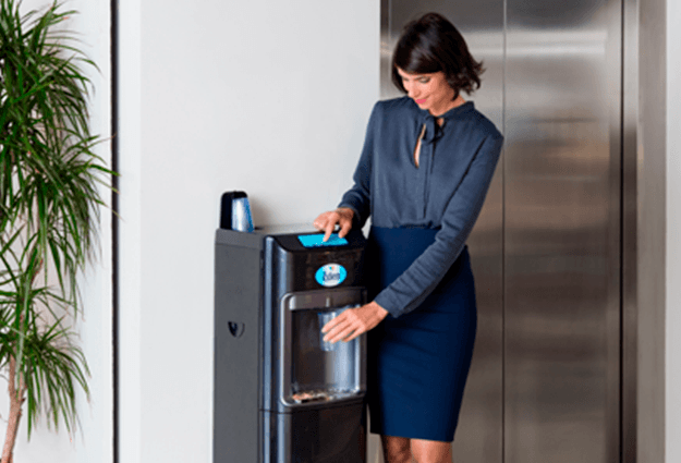 Mains fed water coolers for offices