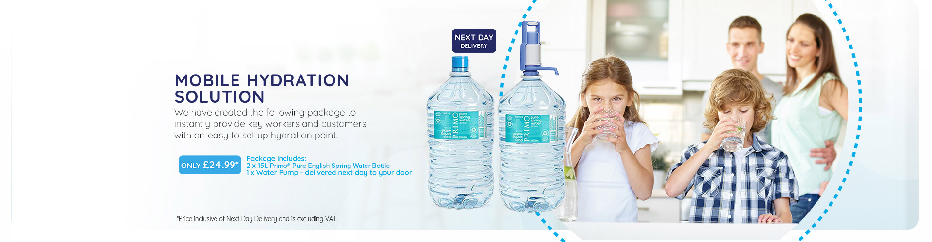 Mobile Hydration Solution Primo